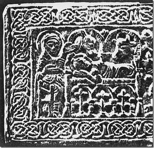 longobardzka brązowa płyta, przed 750