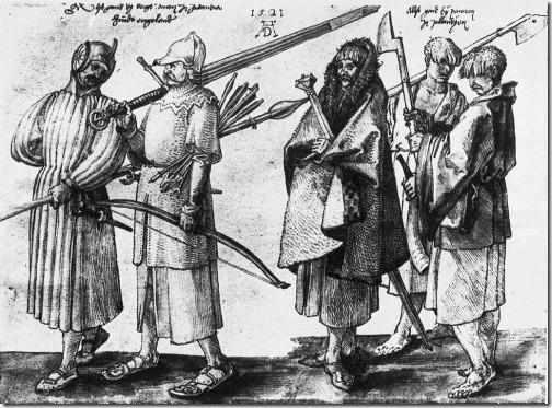 durer - chłopi 1521