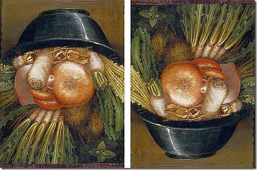 arcimboldo - warzywny ogrodnik