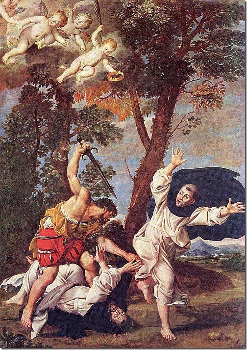 domenichino - zamordowanie św. piotra