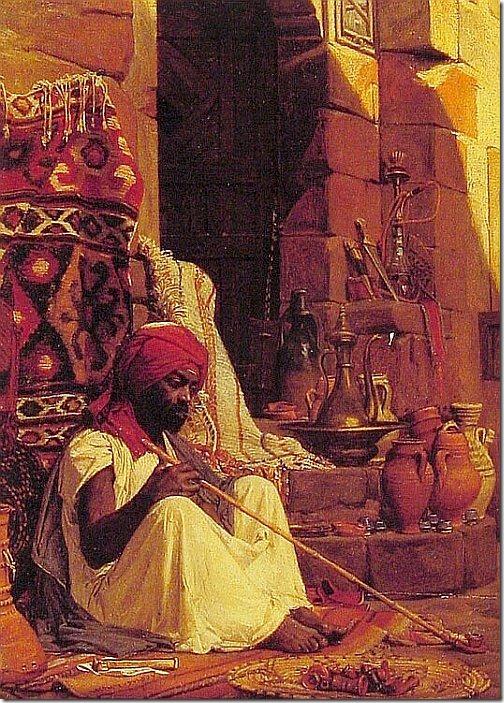 lecomte du nouy - palacz opium