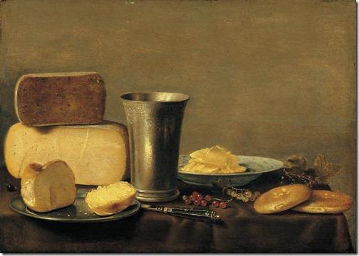 schooten - martwa natura z serem