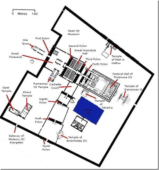 świątynia amona w karnaku