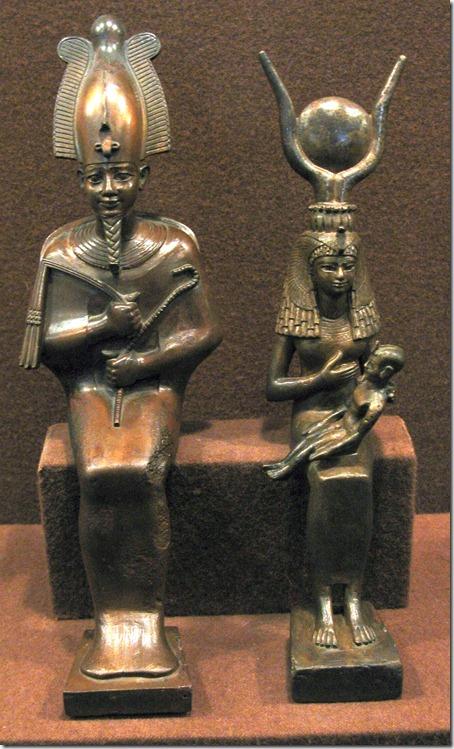 figurki egipskie z ermitażu