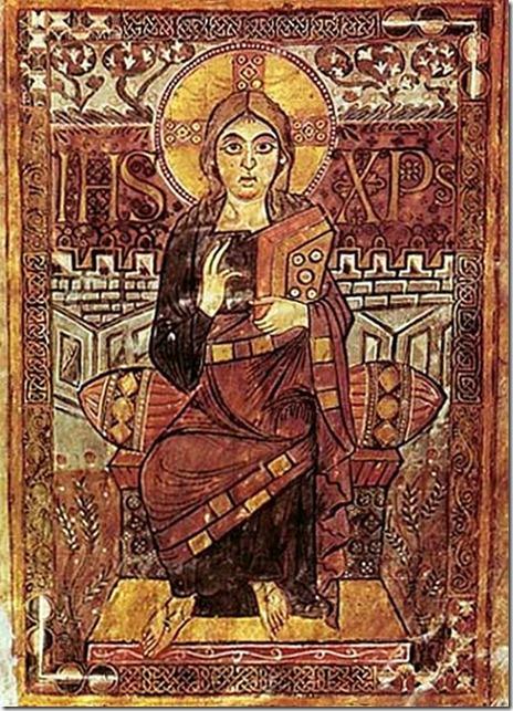 maiestas domini - ewangelistarz godeskalka