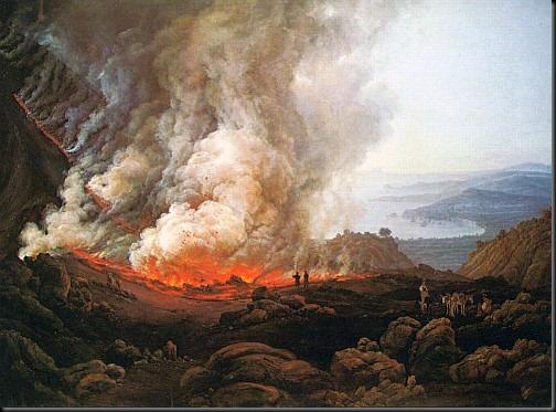 dahl - wybuch wezuwiusza 1826