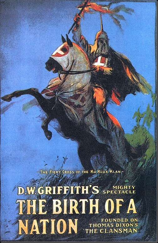griffith - birth of the nation (plakat)