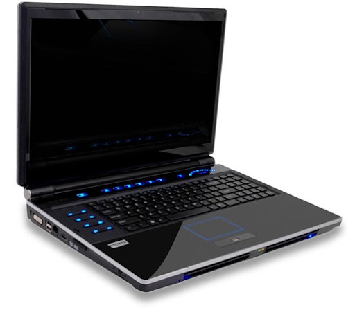 BFG Gaming Laptop Deimos X-10 Powerful Dual Processor