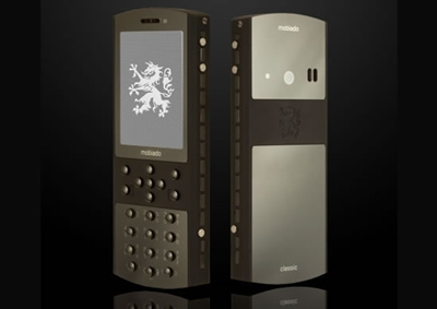Classic 712 mobile phone Mobiado Stealth Luxury