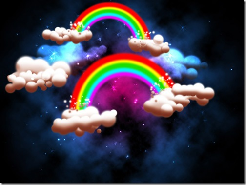 wallpaper of rainbow. and Rainbow Wallpapers :