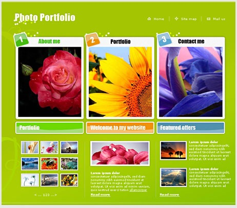 Design a Cool Photo Portfolio