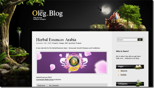 21 Beautiful Blog Designs