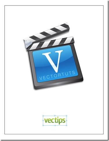 Vector Film Slate Icon