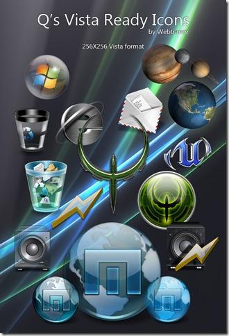 Q's Vista Ready Icons