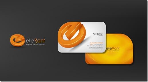 Custom Logo Design Business Card and Website Design