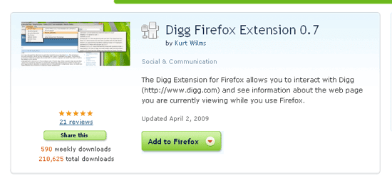 Digg-Extension-for-Firefox