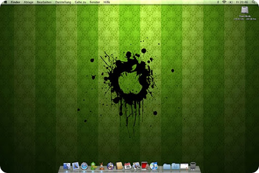 mac os leopard wallpaper. Desktop MacOS X 10.5 Leopard :