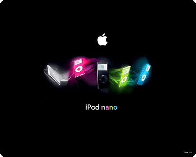 Apple ipod nano desktop Wallpaper
