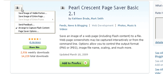 Pearl Crescent Page Saver Basic 2.1