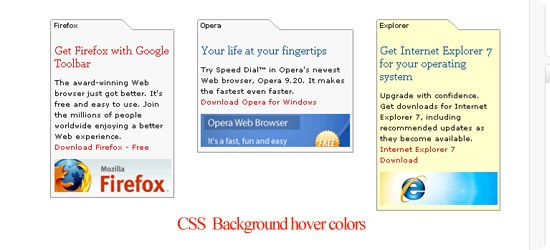CSS--Background-hover-color