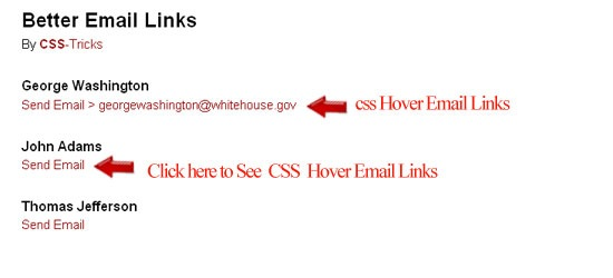 css-Hover-Email-Links
