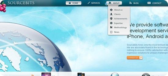 css-navigation-menu