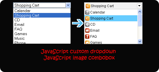 JavaScript-image-combobox
