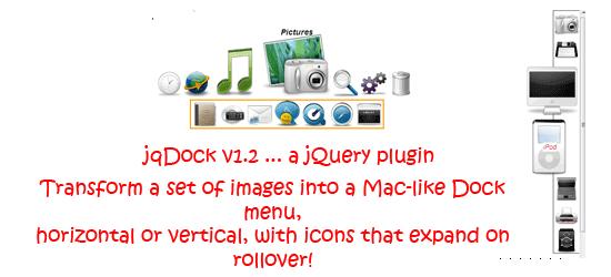 jqDock v1.2 - a jQuery plugin