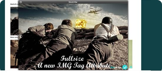 Fullsize - A new IMG Tag Attribute