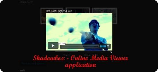 Shadowbox - Online Media Viewer