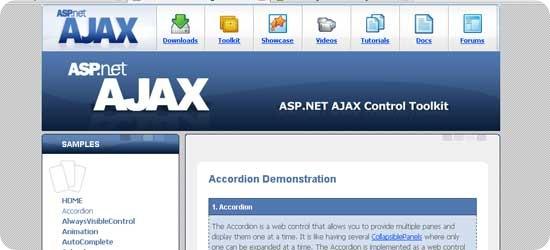 ASP.NET-AJAX-framework