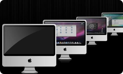 Aluminium iMac Icons - skate3214alu