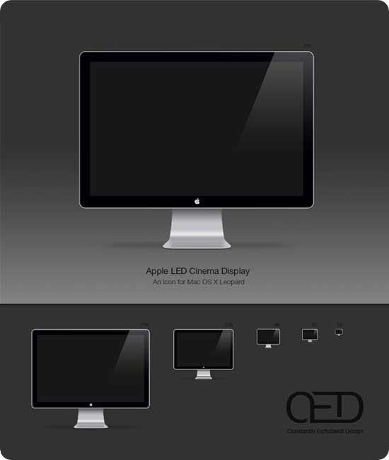 Apple-LED-Display-Icon-OSX