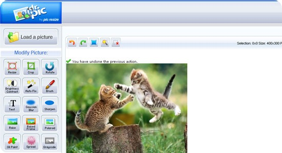 DrPic 20 Useful free Online Image Editor