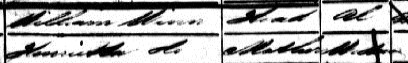 Heneretta Winn, 1851 census