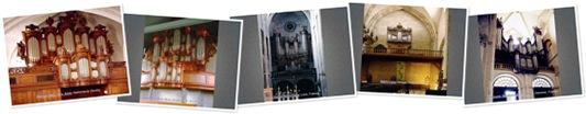 Exibir Órgãos e catedrais