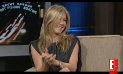 Jennifer Aniston Chelsea Lately September 18 2009 screencaps video images pictures photos screengrabs captures