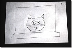 storyboard - cat surprised