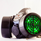 View Cyber-Glow-Gas-Mask