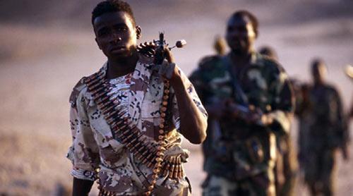 – Des rebelles LRA.