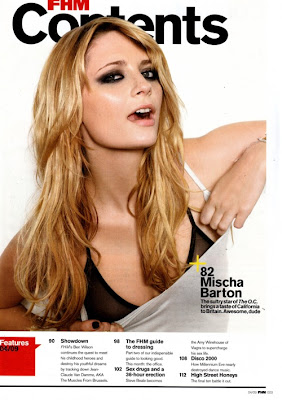 Mischa Barton, FHM Magazine (UK) April 2009