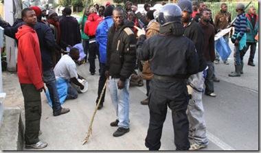 travailleurs migrants à Rosarno