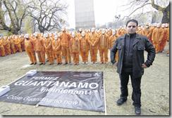Mourad Benchellali, Français d'origine algérienne, a passé deux ans et demi dans la prison. Il estime, tout comme Amnesty internationa, l que l'Europe doit aider à fermer Guantánamo. Photo Stéphane de Sakutin / AFP