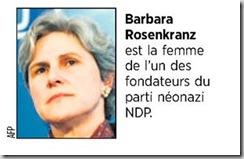 Barbara Rosenkranz AFP