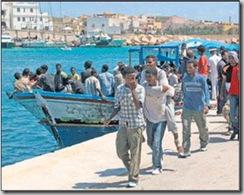 30'000 boat people on débarqué sur les côtes italiennes depuis début 2008