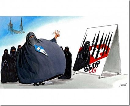 Bürki Lausanne interdit l'affiche de l'UDC