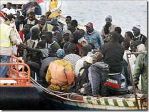 Le projet de réadmission des clandestins dans leur pays d'origine fait partie de la politique d'externationalisation de la quetion migratoire.
