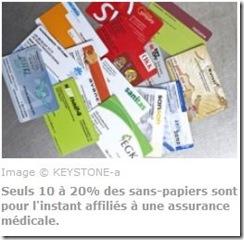 sans-papiers assurance maladie