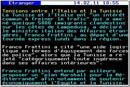 tension italie tunisie