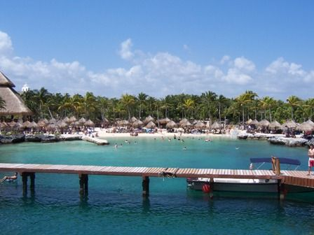 Praia Xcaret